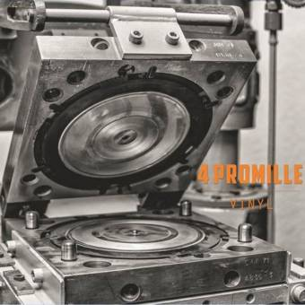 "4 Promille ""Vinyl"" EP 7"" (B-side etched) (lim. 200, black)"