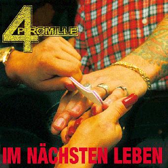 """4 Promille """"Im nächsten Leben"""" LP (lim. 500, black)"""