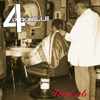 """4 Promille """"Und ab... LP (lim. 500, black)"""