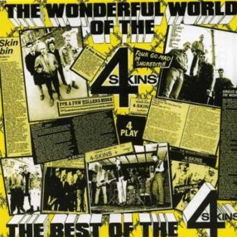 "4 Skins ""Wonderful World - The best of the 4 Skins"" CD (lim. 500, DigiPac)"