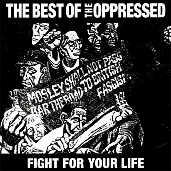 "Oppressed, The ""Fight for your life - the best of the Oppressed"" LP (neon orange)"