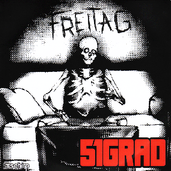 "51 Grad ""Freitag"" EP 7"" (lim. 100, black)"