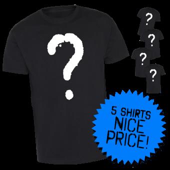 Super-Sparpaket 5er Überraschungsset HC/Metal (B) T-Shirt (XXL) B | XXL
