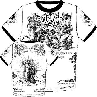 """Grober Knüppel """"Endzeit"""" Contrast T-Shirt"""
