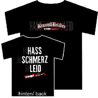 """KrawallBrüder """"Hass, Schmerz, Leid"""" T-Shirt"""