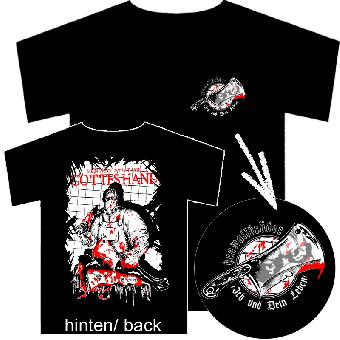"""KrawallBrüder """"Ich und dein Leben"""" T-Shirt"""