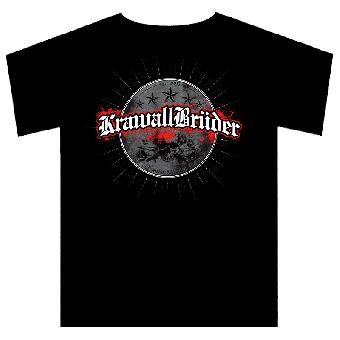 """KrawallBrüder """"Blut, Schweiss und keine Tränen"""" (rund) T-Shirt"""