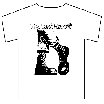 "Last Resort,The ""Boots"" T-Shirt (white)"