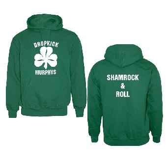 "Dropkick Murphys ""Shamrock & Roll"" Kapu (green)"
