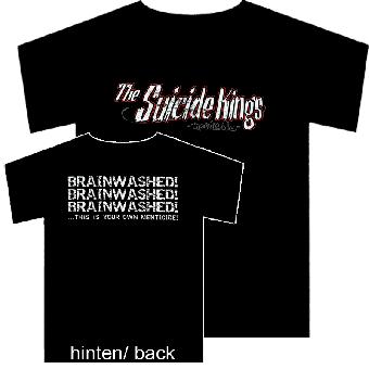 """Suicide Kings """"Menticide"""" T-Shirt (schwarz)"""