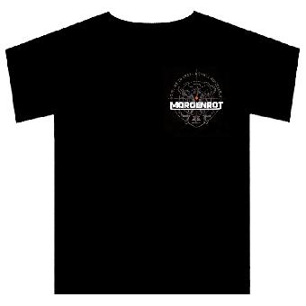 "Morgenrot ""Fadenkreuz"" T-Shirt (schwarz)"