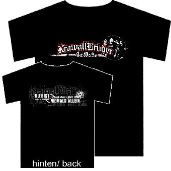 """KrawallBrüder """"Solange wir wie Brüder sind"""" T-Shirt"""