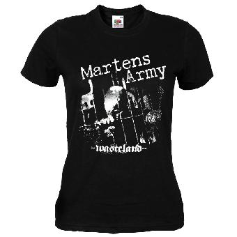 "Martens Army ""Wasteland"" Girly Shirt"