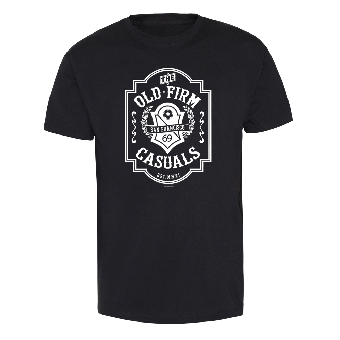 """Old Firm Casuals,The """"Football Crest"""" T-Shirt"""