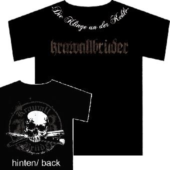 """KrawallBrüder """"Die Klinge an der Kehle"""" T-Shirt"""