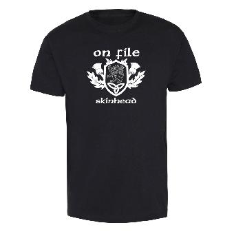 "On File ""Skinhead"" T-Shirt"