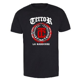 """Terror """"Live by the Code"""" T-Shirt"""
