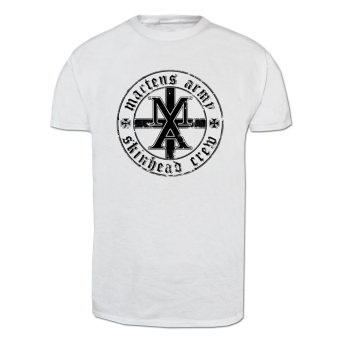 "Martens Army ""M.A.S.C."" T-Shirt (white)"