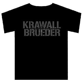 """KrawallBrüder """"Stencil"""" T-Shirt"""