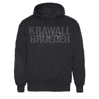"KrawallBrüder ""Stencil"" Kapu / hooded"
