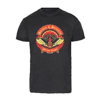 """Saints & Sinners """"Boots"""" T-Shirt"""