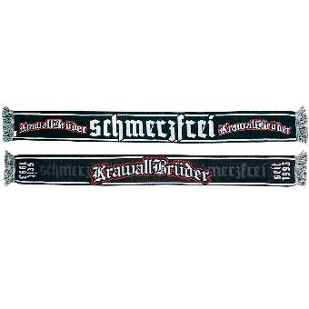 """KrawallBrüder """"schmerzfrei"""" scarf"""