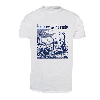 """Hammer and the Nails """"Gallows"""" T-Shirt (white)"""