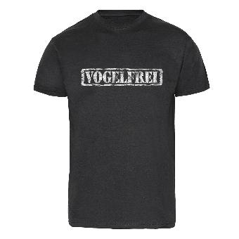 """Vogelfrei """"Stempel"""" T-Shirt"""