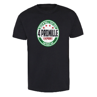 "4 Promille ""Beer & Roll - Export"" T-Shirt"