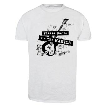 "Manics,The ""Please Panic"" T-Shirt (white)"