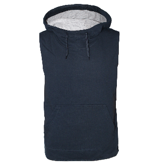 Kariban Sleeveless Hooded Sweat (navy)