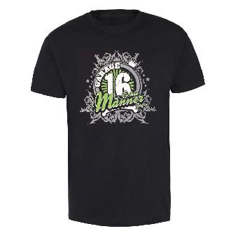 """Garage 16 """"Echte Männer"""" T-Shirt"""