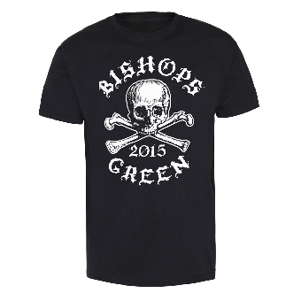 "Bishops Green ""Skull"" T-Shirt (black)"