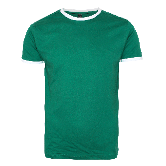 "Nath ""Boston"" Shirt (white/green)"