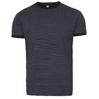 "Nath ""Boston"" Stripe Shirt (darkgrey)"