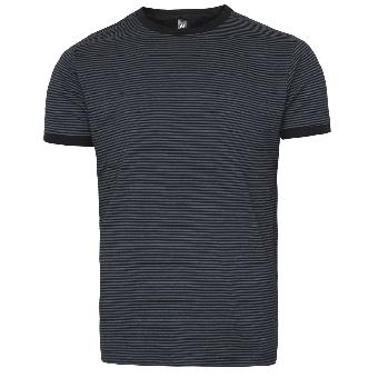 "Nath ""Boston"" Stripe Shirt (darkgrey)"