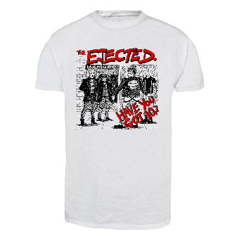"""Ejected, The """"Have you got 10p?"""" T-Shirt (white)"""