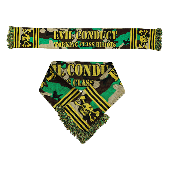 """Evil Conduct """"Working Class Heroes"""" scarf (camouflage)"""