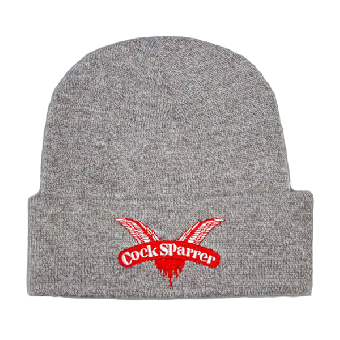 "Cock Sparrer ""Logo"" Dockers Hat (grey)"