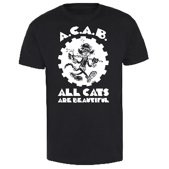 "A.C.A.B. All Cats Are Beautiful ""Clockwork Orange"" T-Shirt (lim.)"