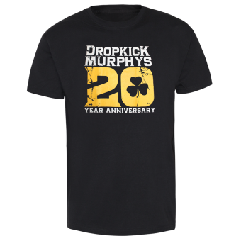 "Dropkick Murphys ""20th Anniversary"" T-Shirt"