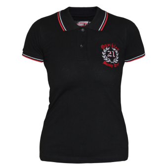 "Gumbles ""Barney Army"" Girly Polo"