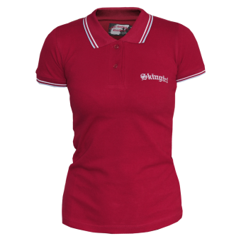 "Never Surrender ""Skingirl"" Girly Polo"
