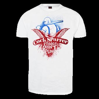 "Cock Sparrer ""Droogs don`t run"" T-Shirt"