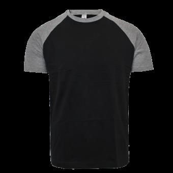 Sol`s Raglan Shirt (black/grey)