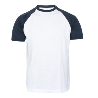 Sol`s Raglan Shirt (white/navy)