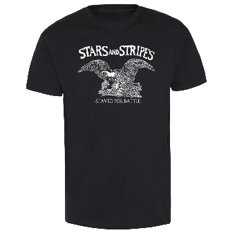 "Stars and Stripes ""Shaved for battle"" T-Shirt"