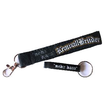 """KrawallBrüder """"mehr hass"""" Schlüsselband mit Flaschenöffner"""