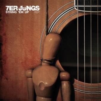 "7er Jungs ""String em up"" EP 7"" (lim. 200 / schweinchenrosa)"