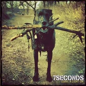 "7 Seconds ""Leave A Light On"" LP (lim. 2500, blue) + CD"